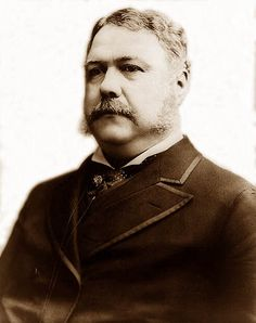President #21 - Chester Arthur (Oct. 5, 1829-Nov. 18, 1886) was the 21st President of the USA (serving from 1881-1885). Before he was President, Arthur had been the Vice-President of the USA, serving under President James A. Garfield. After Garfield was assassinated, Arthur became President. During his term as President, he tried to reform the civil service system.
