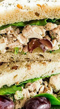 Knockout Chicken Salad Sandwiches