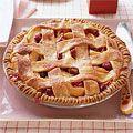 Raspberry-Peach Pie