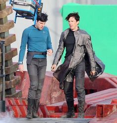 I think I would choose Benedict, but it did take some thought.  I <3 Zachary Quinto as Spock!