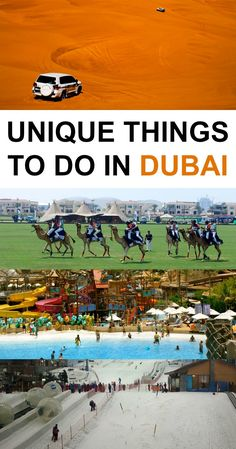 15 Unique Things to Do in Dubai Thinking about checking out Dubai? We list 15 unique things to do in Dubai that you need to check out in this popular travel city. Dubai Vacation, Dubai Travel, Asia Travel, Solo Travel, Travel City, Eastern Travel, Dubai Trip, Maldives Vacation, Travel Goals
