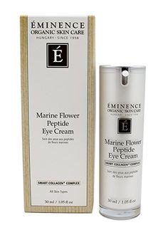 Eminence Organic Skincare Marine Flower Peptide Serum 1 Ounce for sale online Coconut Oil For Skin, Organic Coconut Oil, Organic Oil, Organic Skin Care, Eminence Organics, Eye Cream, Dark Circles, Skincare, Flower