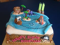 Pirate Cake by Art Cakes, via Flickr