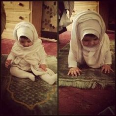 Image de islam, baby, and hijab