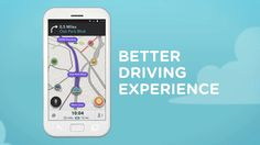 Waze 4.0 showcases a new, cleaner design for easier navigation, reporting and sharing. Steps to navigate have been minimized. The Waze map, menus and road re...