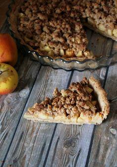 Une pipelette en cuisine: Tarte aux pommes façon crumble