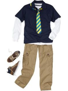 A preppy look for back to school @Old Navy Scarborough Town Centre. #boys #fashion #school