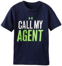 Under Armour Boys 2-7 Call My Agent Tee