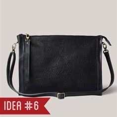 Idea #6: Decibel negro (Brussosa) Christmas Ideas, Unisex, Bags, Travel, Handbags, Black, Purses, Trips, Taschen