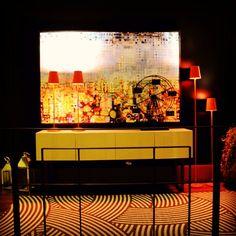 #ShareIG Novo show room da @casacorparana_oficial pelo arquiteto Luiz Maingue com carpete e piso vinilico da Beaulieu. #beaulieudobrasil #soluçõesinteligentes #piso # carpetes #showroom #ambientes #design #interiores #arquitetura #arqdesign