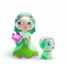 djeco: arty toys - luna i piesek