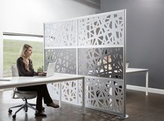 open space office divisions - Buscar con Google