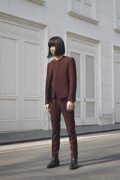 Name: Makusu Nishiyama | 西山 真楠 Occupation: University student | 大学生 Jacket: LAD MUSICIAN | ラッド ミュージシャン Shirt: LAD MUSICIAN | ラッド ミュージシャン ...