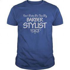 Barber Stylist Voice Shirts - #men dress shirts #crew neck sweatshirt. MORE INFO => https://www.sunfrog.com/Jobs/Barber-Stylist-Voice-Shirts-Royal-Blue-Guys.html?60505