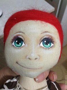 рисуем лицо кукле - Ярмарка Мастеров - ручная работа, handmade.  Tutorial for face painting.
