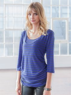 Back Drape Nursing Top