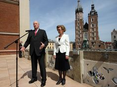 #King of #Norway, #Harald V visiting #Cracow #Poland
