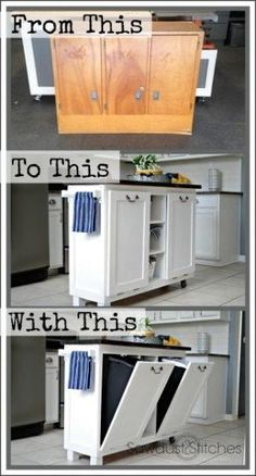 Kitchen cart makeover kitchen carts and rolling kitchen cart for Certified kitchen and bath designer salary