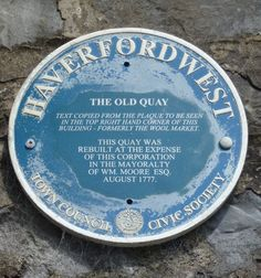 Haverfordwest, Old Quay