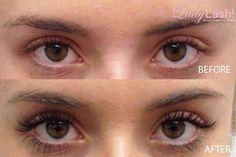 Faux Mink Eyelash Extensions #EyelashExtensionsNatural