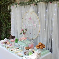 Baby Shower, Bridal Shower, Baby Birthday, Birthday Parties, Dulce Candy, Wedding Planer, Donut Bar, Boho Girl, Ideas Para Fiestas