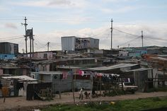 Khayelitsha, the largest township in Cape Town. The real Cape Town. Blue Sky Movie, South Afrika, Xhosa, Cape Town South Africa, Slums, Blue Skies, Happy People, Adventure Awaits, Beautiful Sunset