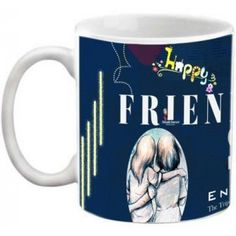 COFFEE MUG - FRIENDSHIP - ENJOY THE TRIP OF MY SHIP FRIENDS QUOTES PRINTED WHITE