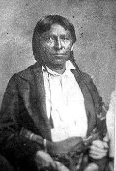 Wabasha who was a Heriditary Chief of the Dakota He is buried in Santee Nebraska This photo was taken in 1858 again