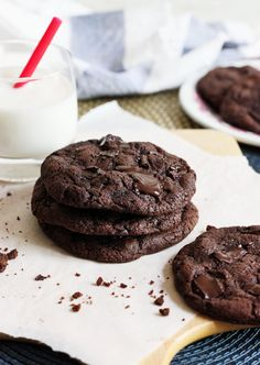Extreme Double Chocolate Cookies