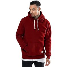 Five Four Mens Adult Printed Plush Hooded Sweatshirt,Comfortable Style