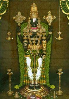 Beautiful Images Of Venkateswara Alankara Venkateswara Is One Of The Main Forms Of Lord Vishnu Worship