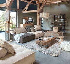 Kitnet & Studio Decoration: Designs & Photos - Home Fashion Trend Budget Home Decorating, Interior Decorating, Interior Design, Decorating Bedrooms, Decorating Ideas, Loft Design, House Design, Home Improvement Loans, Style Deco