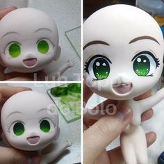 Aprendendo e evoluindo a técnica! Polymer Clay Figures, Polymer Clay Dolls, Polymer Clay Crafts, Diy Clay, Paper Clay, Clay Art, Polymer Clay Princess, Clay Projects For Kids, Art Doll Tutorial