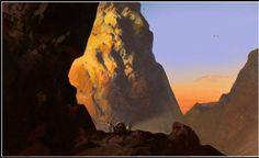 Thorgal - by Neil C. Amazing Paintings, Visual Development, Painting Inspiration, Composition, Digital Art, Backgrounds, Tutorials, Fantasy, London