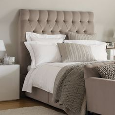 Richmond Headboard - Beds | The White Company