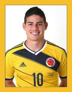 James Rodriguez of Colombia poses during the official FIFA World Cup 2014 portrait session on June 2014 in Sao Paulo, Brazil. Get premium, high resolution news photos at Getty Images James Rodriguez Colombia, James Rodriguez 2014, Cristiano Ronaldo, Best Football Players, Soccer Players, Soccer Guys, Football Fans, Neymar Jr, World Cup 2014