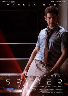 Mahesh Babu Spyder Movie First Look Poster Photo Mahesh Babu Spyder Movie First Look Poster Photo