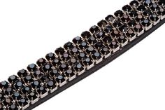 This stunning diamante browband will make you look like a real show stopper in the ring. Crafted from sumptuous leather and heavily studded with sparkling diamantes. Equestrian Supplies, Horse Bridle, The Row, Beaded Bracelets, Horses, Leather, Country, Ring, Jewelry