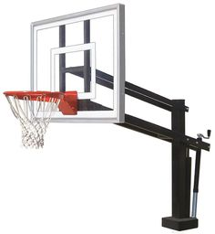 First Team HydroShot III Adjustable Pool Side Basketball Hoop 54 inch Acrylic from NJ Swingsets