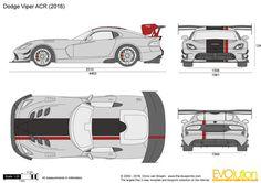 Viper Acr, Dodge Viper, Dragon Tattoo Vector, Bike Cart, Cool Car Drawings, Ford Gt, Concept Cars, Cool Cars, Super Cars