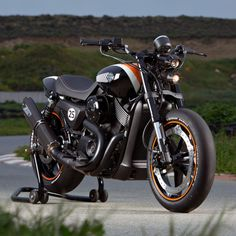 Harley-Davidson Street 750 custom from Norway