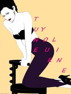 sensual Woman Patrick Nagel Quotes Poetry