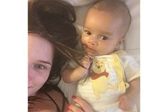 Helen Flanagan's baby in 10 adorable selfies