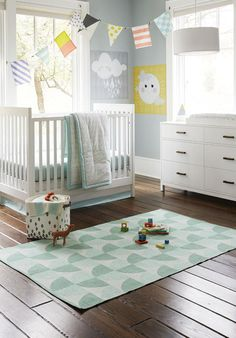 Designing a Gender Neutral Nursery via honesttonod.com