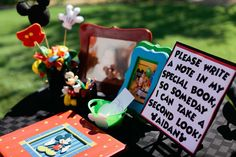 Mickey Mouse Birthday Party Ideas | Photo 1 of 79 | Catch My Party