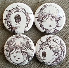 Alexander and the Terrible, Horrible, No Good, Very Bad Day Upcycled Magnets want