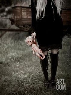 Doll Photographic Print by Josefine Jonsson at Art.com