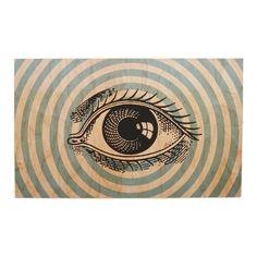 I've Got My Eye on You Art Print on Wood | dotandbo.com