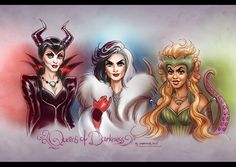 Once Upon a Time: Queens of Darkness by daekazu on DeviantArt