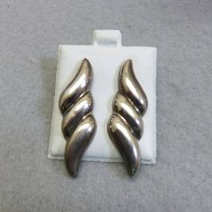 Girls Gift Jewelry Black Onyx Sterling Silver Overlay 5 Grams Earring 1.75 Long